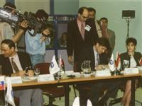 Signing Articles of Association (Establishing) of Federation of Euro-Asian Stock Exchanges, Istanbul 1996